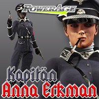 Kapitan Anna Erkman V4 - Extended License 3D Models 3D Figure Assets Extended Licenses powerage