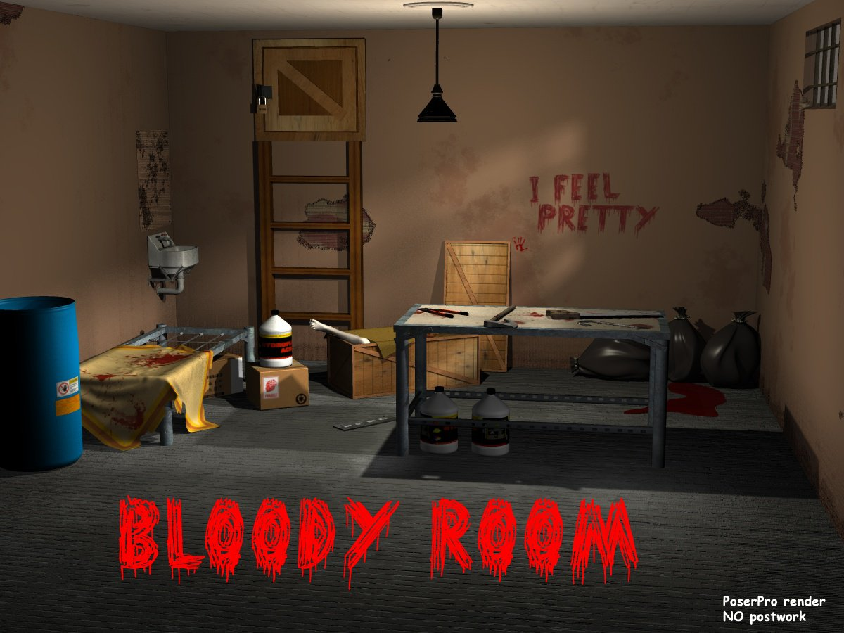 Bloody room - Extended License