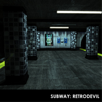 The Subway - Extended License 3D Models Extended Licenses RetroDevil