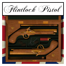 Flintlock Pistol and case - Extended License 3D Models Gaming RetroDevil