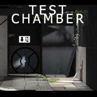 Test Chamber -Entrance - Extended License 3D Models RetroDevil