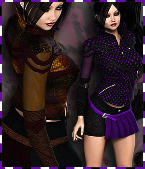 NYC Couture: Punky Pop by RPublishing 3D Figure Essentials 3DSublimeProductions