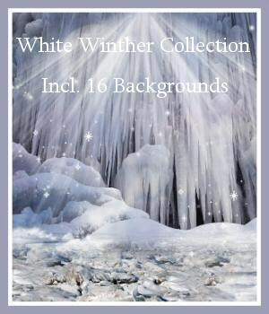White Winter Dream 2D Graphics _Breeze
