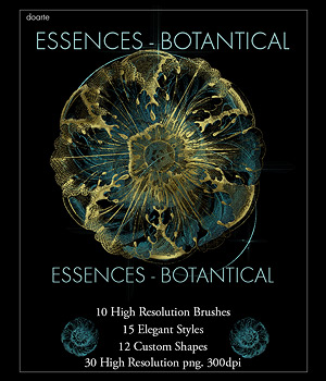 doarte ESSENCES - BOTANTICAL 2D doarte