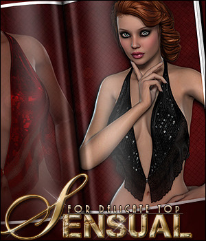 Sensual for Delicate Top 3D Figure Essentials Sveva