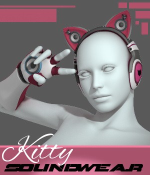 Kitty Soundwear 3D Figure Assets TruForm