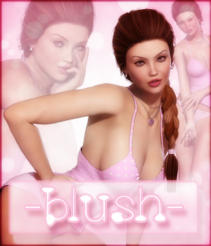 Blush for V4 & G2F 3D Figure Assets -dragonfly3d-