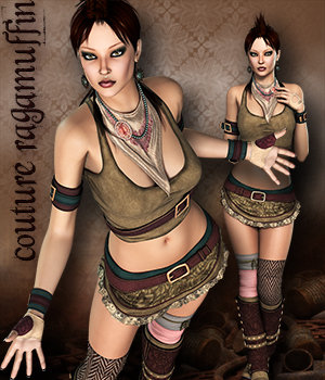 YesterYear for RagaMuffin 3D Figure Essentials 3DSublimeProductions