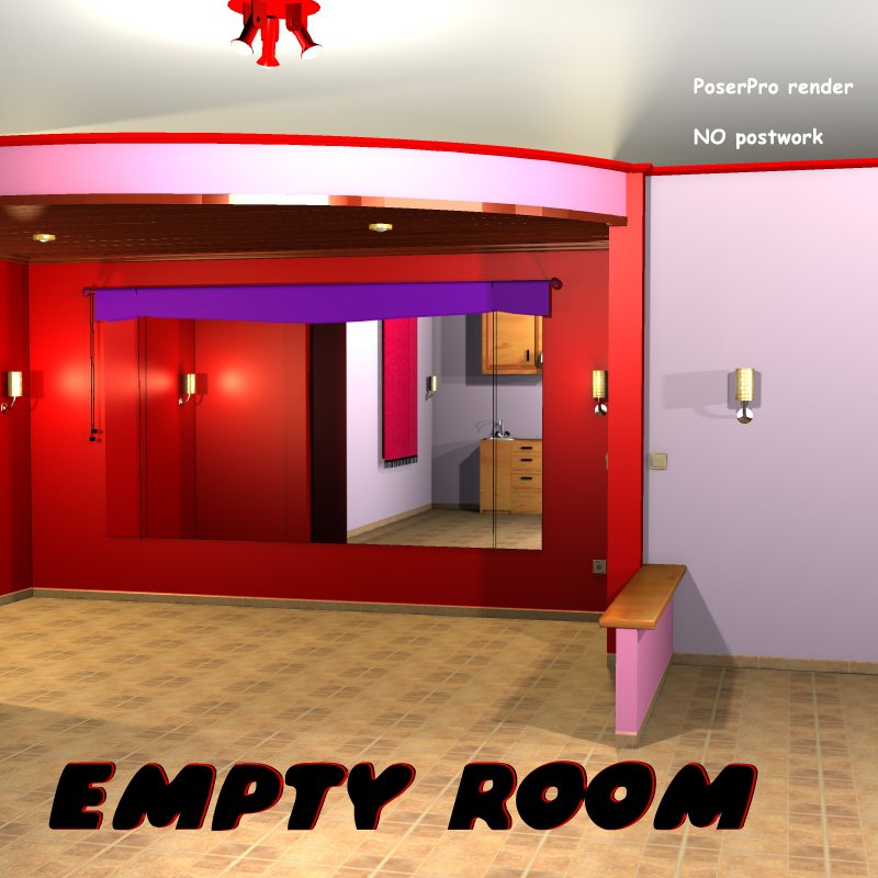 Empty Room - Extended License