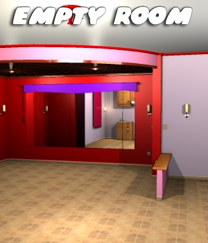Empty Room - Extended License 3D Models Extended Licenses greenpots
