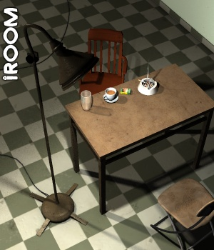 IRoom (Interrogation room) - Extended License Gaming 3D Models greenpots