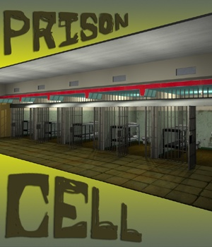 Prison Cell - Extended License 3D Models Gaming greenpots