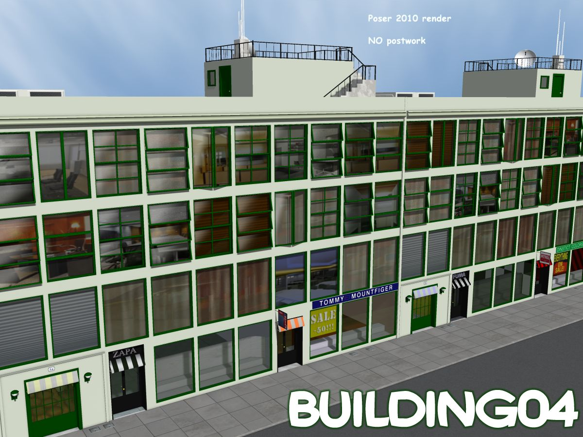 Building04 - Extended License by greenpots