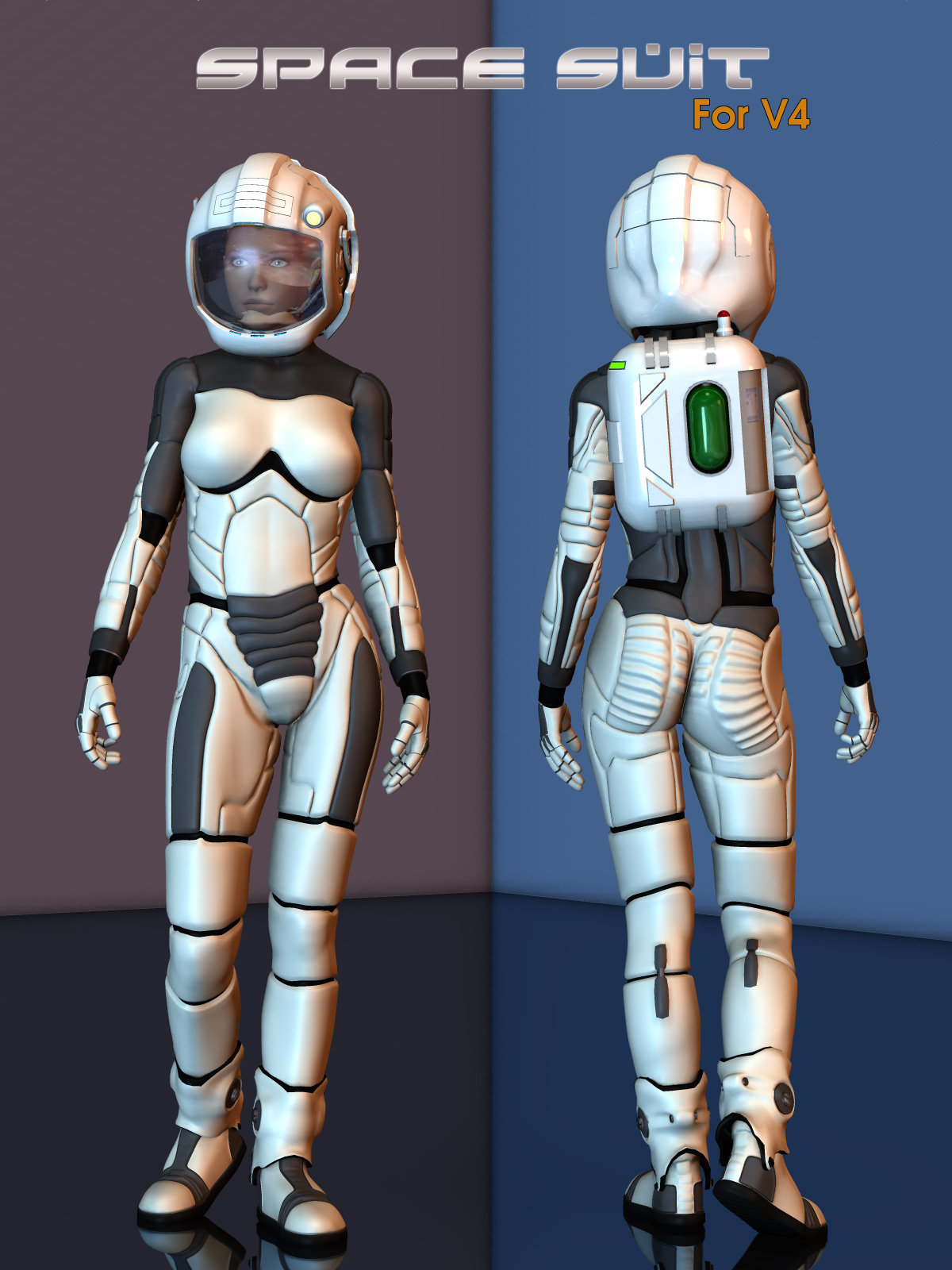 Space Suit for V4