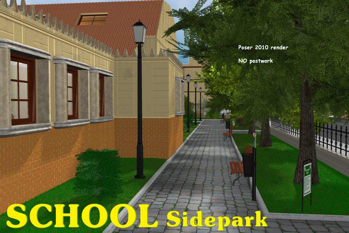 School Side Park - Extended License