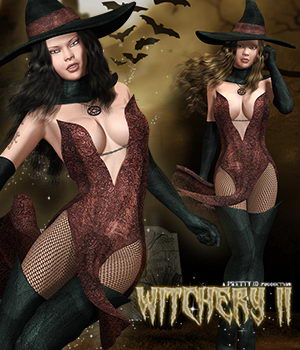 Witchery II (for V4) 3D Figure Assets Pretty3D