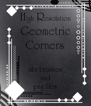 Geometric Corners 2D Graphics Merchant Resources antje