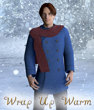 Wrap Up Warm for Genesis 2 Male 3D Figure Essentials Lyrra