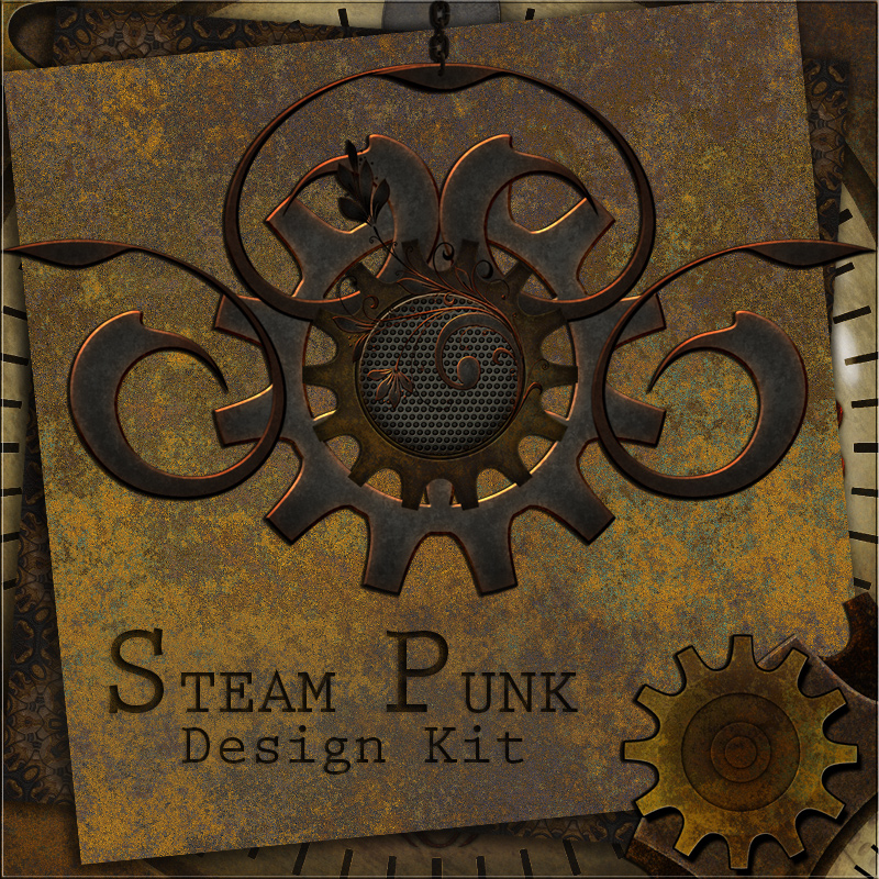 SteamPunk Design Kit