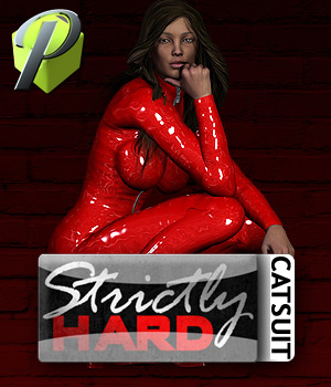 StrictlyHARD Catsuit V4 A4 G4 Elite 3D Figure Essentials powerage