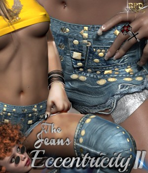 Shorts I - Eccentricity II - The Jeans 3D Figure Essentials renapd