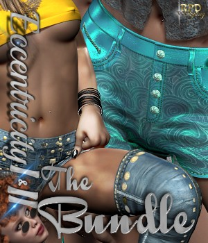 Shorts I - Eccentricity I and II - BUNDLE by renapd