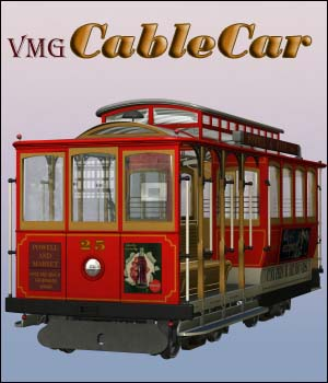 VMG Cable Car 3D Models VMG3design