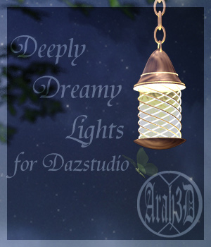 Arah3D Deeply Dreamy Lights for DS 3D Lighting : Cameras Arah