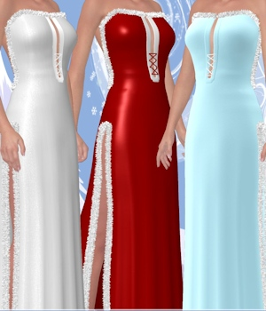 Wynter Frost for Winter Galaxy V4 Dress 3D Figure Essentials ANG3L_R3D