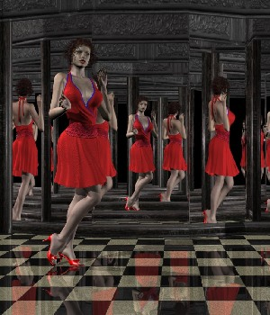 Mirror Room II 3D Models kawecki