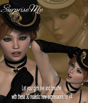 SoExpressive IX- Surprise Me 3D Figure Essentials vanda51