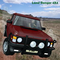 Land Ranger 4X4 - Extended License 3D Models Gaming Simon-3D