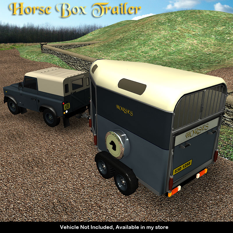 Horse Box Trailer - Extended License