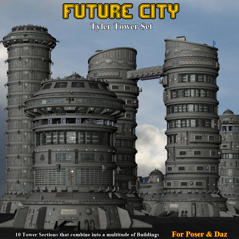 Future City Tyler Tower - Extended License
