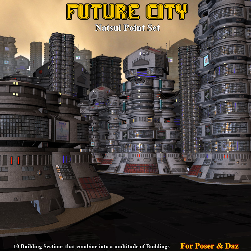 Future City Natsui Point - Extended License