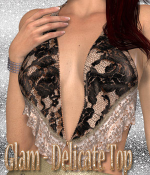 Glam - Delicate Top 3D Figure Essentials kaleya