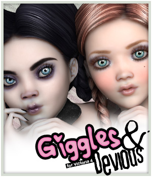 Giggles & Devious 3D Figure Essentials Godin