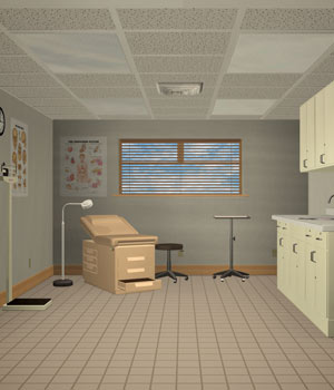 Medical Examination Room by Richabri