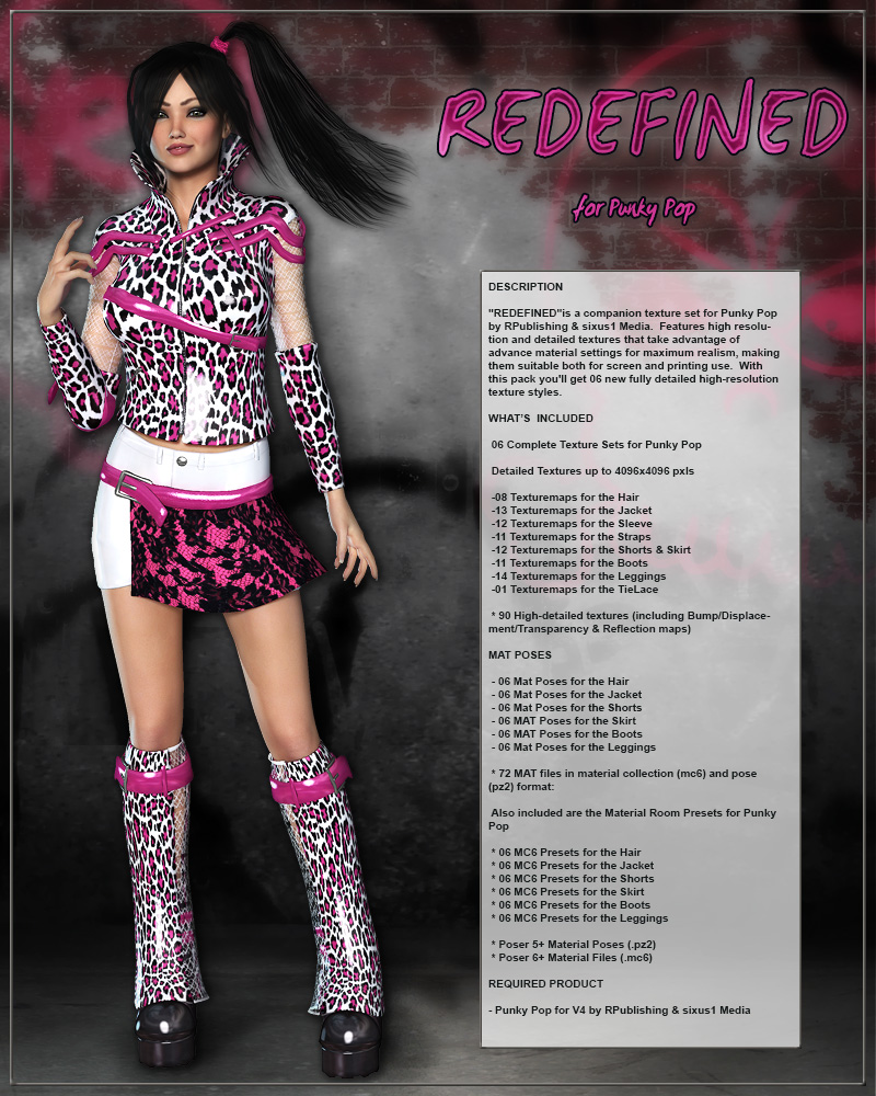 REDEFINED for Punky Pop