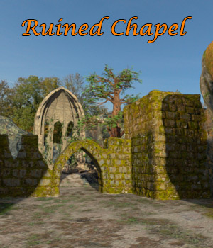 AJ Ruined Chapel 3D Models -AppleJack-