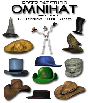 OmniHat SuperProp 3D Figure Essentials Poisen