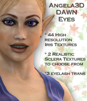 Angela3D Dawn Eyes 3D Figure Essentials Angela3D