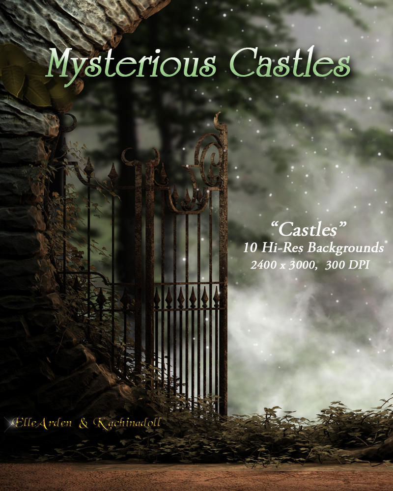 Mysterious Castles Backgrounds