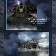Mysterious Castles Backgrounds image 1