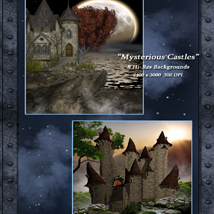 Mysterious Castles Backgrounds image 2