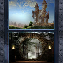 Mysterious Castles Backgrounds image 3