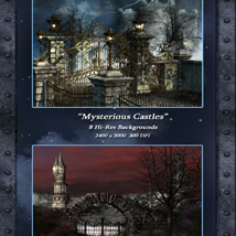 Mysterious Castles Backgrounds image 4