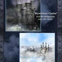 Mysterious Castles Backgrounds image 5
