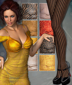 PM - Mesh & Lace by Atenais