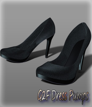 G2F Dress Pumps 3D Figure Essentials kang1hyun